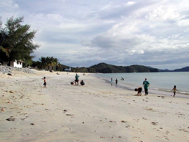 Lang beach